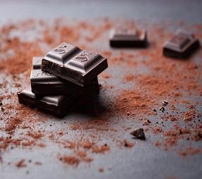 קוביות שוקולד